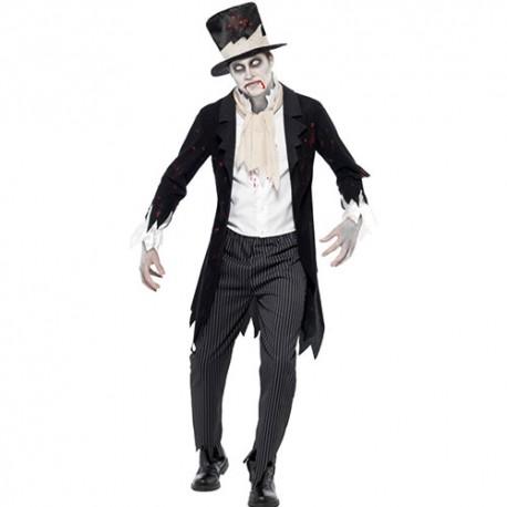 Costume homme groom zombie