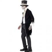 Costume homme groom zombie profil