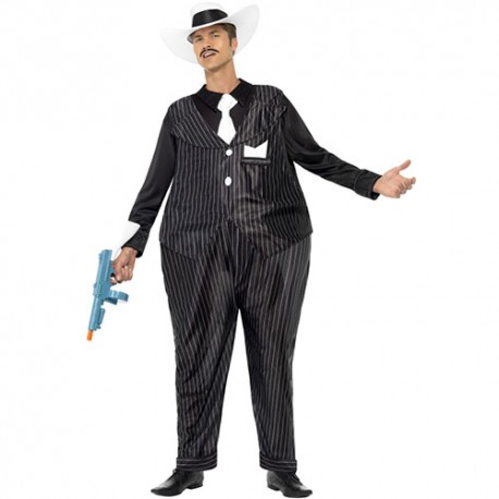 Costume homme gros gangster
