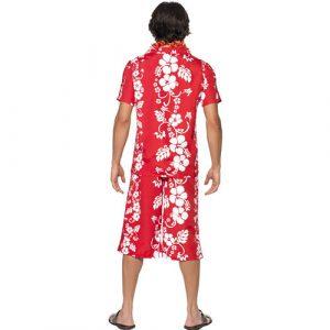 Costume homme hawaïen dos
