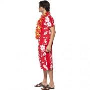 Costume homme hawaïen profil