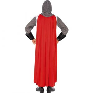 Costume homme héros chevalier Saint George dos