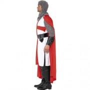 Costume homme héros chevalier Saint George profil
