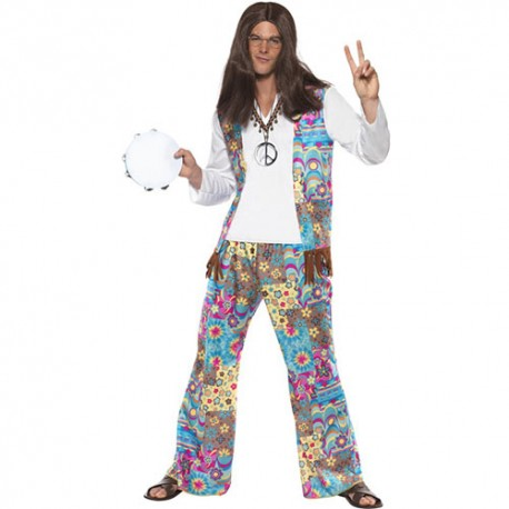 Costume homme hippie groovy