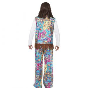 Costume homme hippie groovy dos