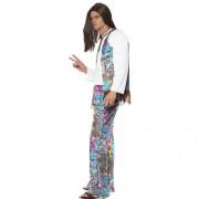 Costume homme hippie groovy profil