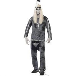 Costume homme indien zombie