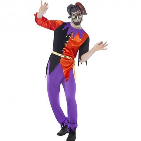 Costume homme joker fou
