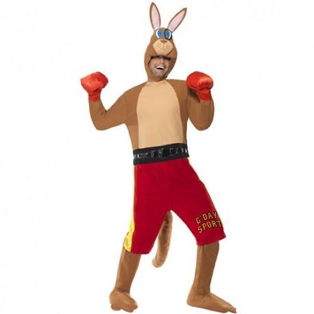 Costume homme kangourou boxeur