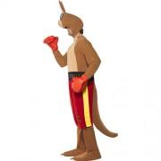 Costume homme kangourou boxeur profil