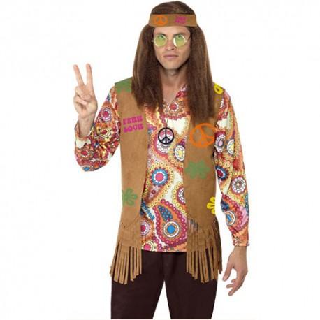 Costume homme kit hippie
