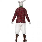 Costume homme lapin enragé dos