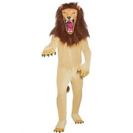 Costume homme lion cirque féroce