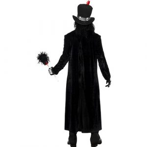 Costume homme maître vaudou dos