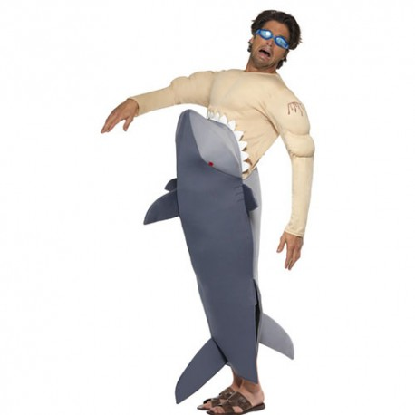 Costume homme requin mangeur