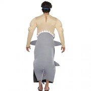 Costume homme requin mangeur dos