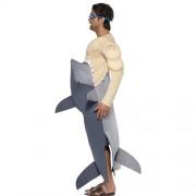 Costume homme requin mangeur profil