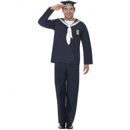 Costume homme marin bleu marine
