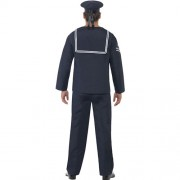 Costume homme marin bleu marine dos