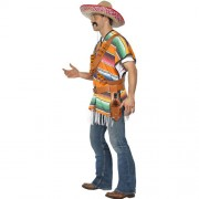 Costume homme mexicain shooter Tequila profil