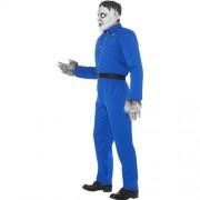 Costume homme monstre hurlant profil