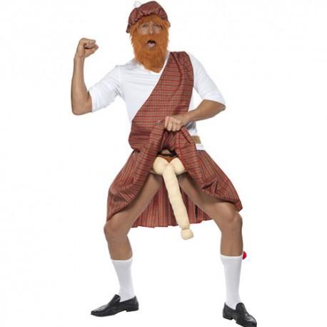 Costume homme montagnard écossais humour