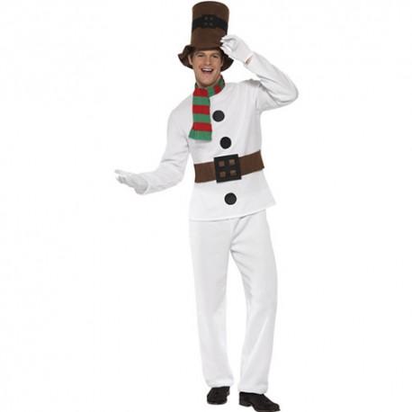 Costume homme Mr bonhomme neige