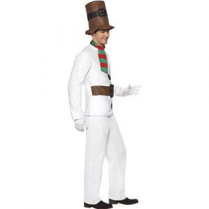 Costume homme Mr bonhomme neige profil