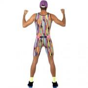 Costume homme Mr Energie coloré dos