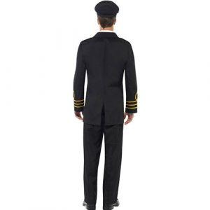 Costume homme officier marine dos