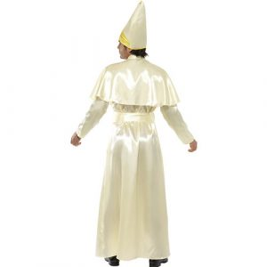 Costume homme pape dos