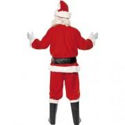 Costume homme père Noël joyeux dos
