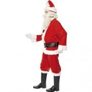 Costume homme père Noël joyeux profil