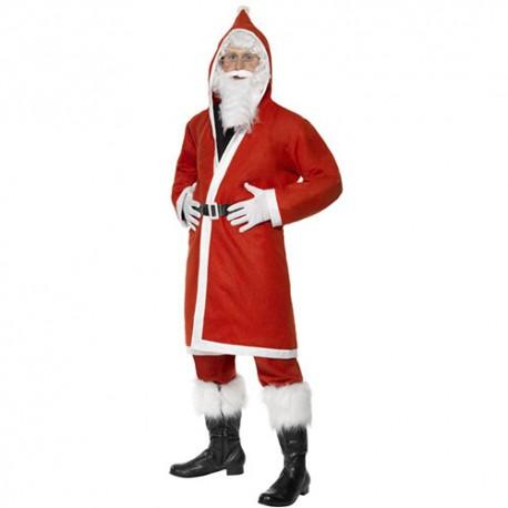 Costume homme père Noël jovial