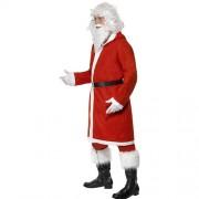 Costume homme père Noël jovial profil