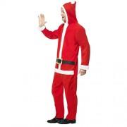 Costume homme père Noël classique profil