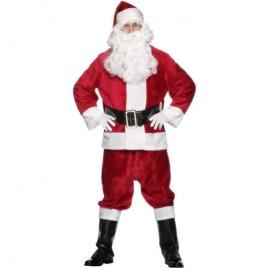 Costume homme père Noël luxe