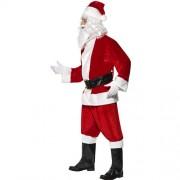 Costume homme père Noël luxe profil