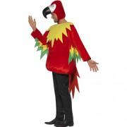 Costume homme perroquet profil