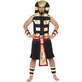Costume homme pharaon noir or