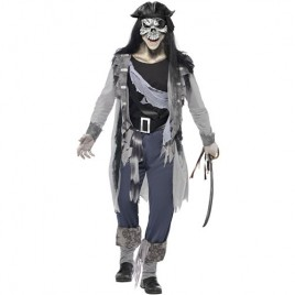 Costume homme pirate aventurier hanté