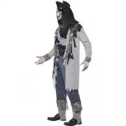 Costume homme pirate aventurier hanté profil