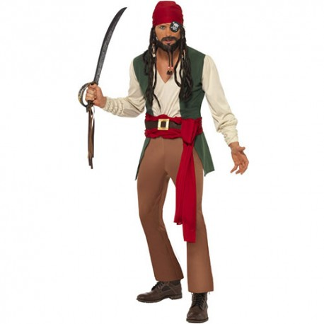 Costume homme pirate des Caraïbes