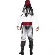Costume homme pirate des îles dos
