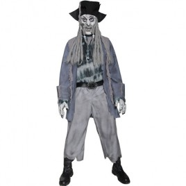Costume homme pirate fantôme zombie