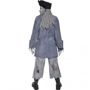 Costume homme pirate fantôme zombie dos