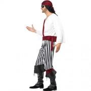 Costume homme pirate des îles profil