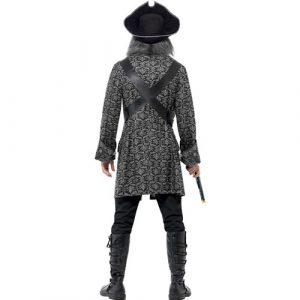 Costume homme pirate terreur des mers dos