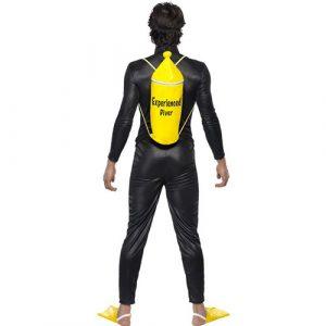 Costume homme plongeur dos
