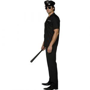 Costume homme policier profil